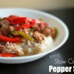 Easy Slow Cooker Pepper Steak