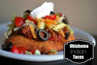 Oklahoma Indian Tacos | Aunt Bee's Recipes