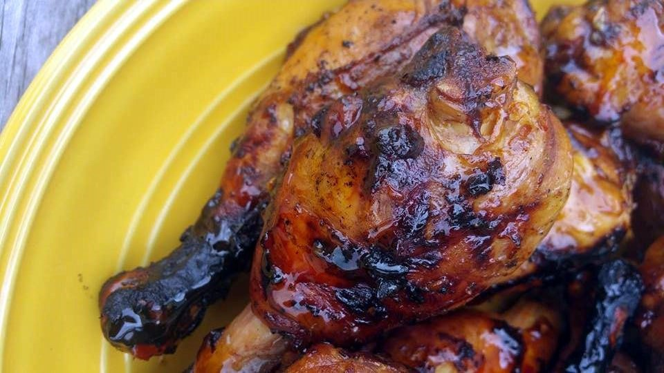 Asian Sticky Chicken | Aunt Bee's Recipes