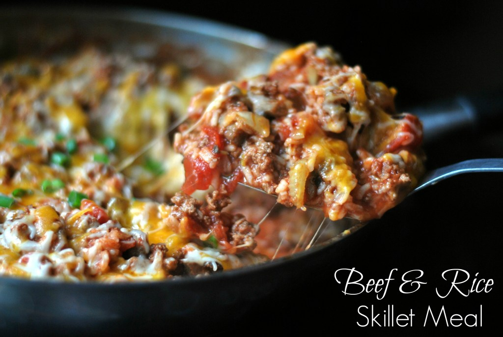 Beef & Rice Skillet Meal | Aunt Bee's Recipes