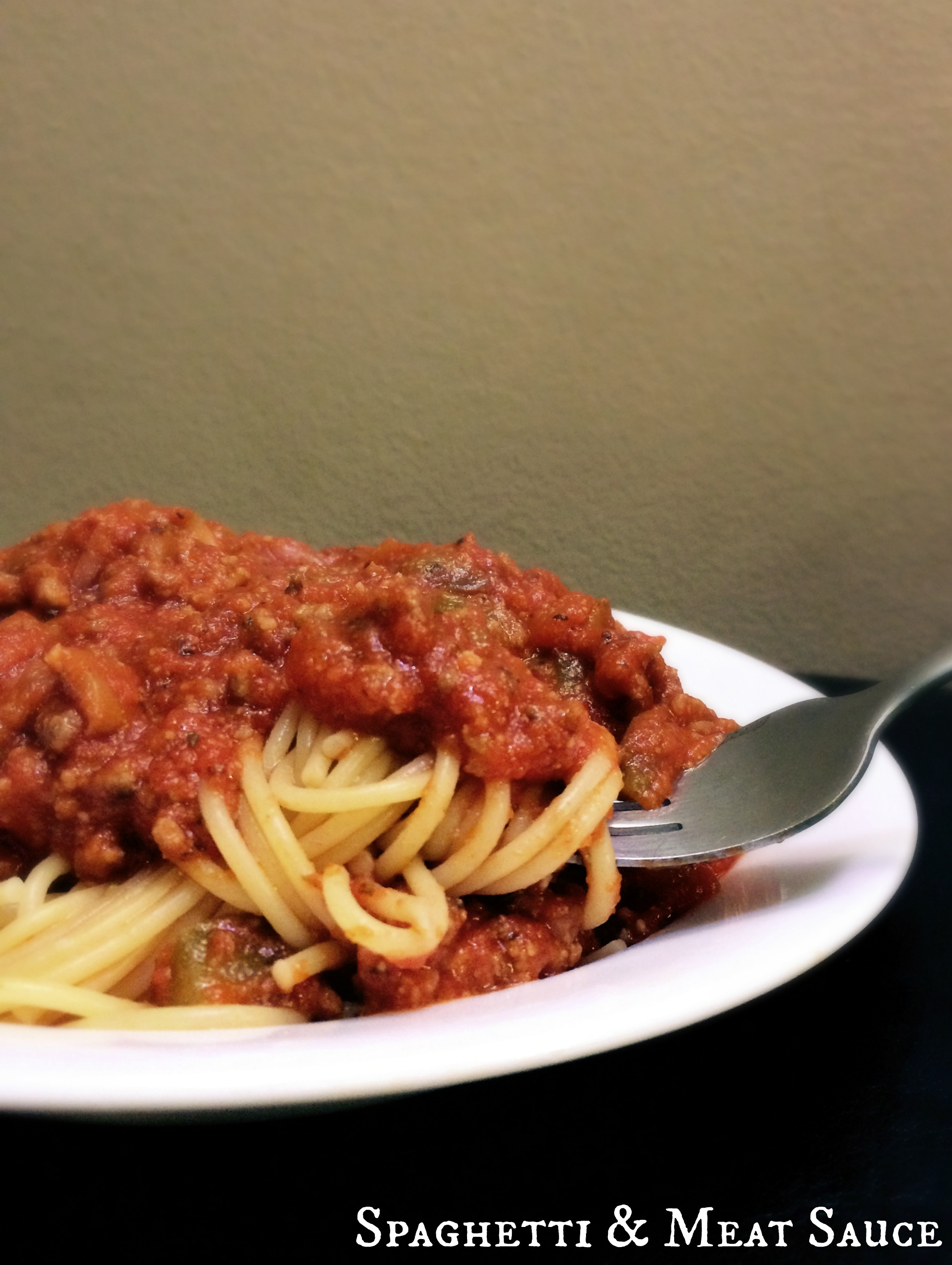 how to make spaghetti with meat sauce recipe