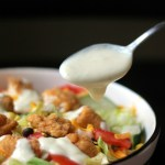 Crispy Chicken Salad with Creamy Honey-Lime Dressing
