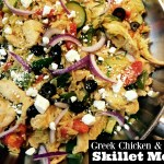 Greek Chicken & Orzo Skillet Meal