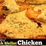 Country French Skillet Chicken