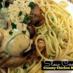 Slow Cooker Creamy Chicken Marsala