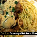 Slow Cooker Creamy Chicken Marsala