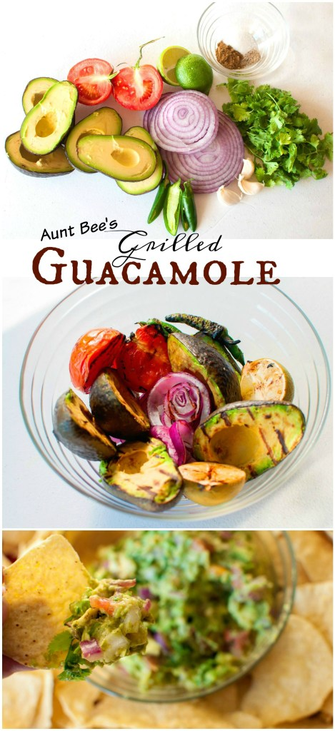 Grilled Guacamole | Aunt Bee's Recipes