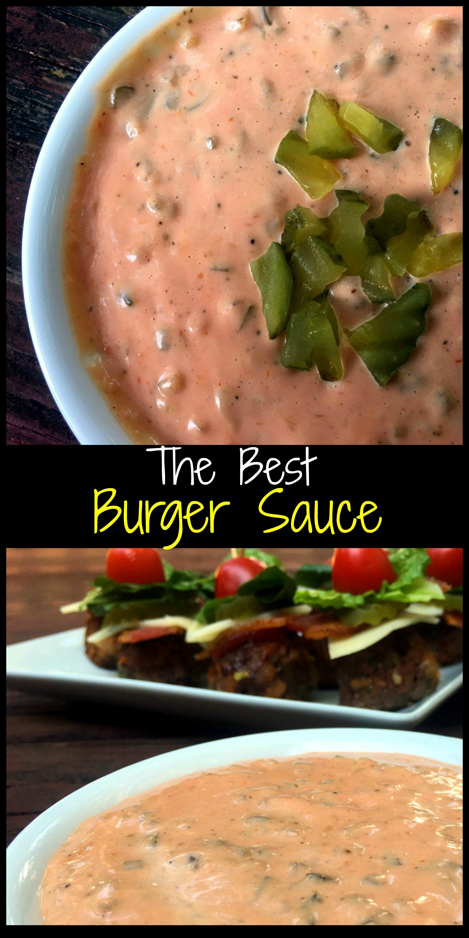 how to make white sauce for burger