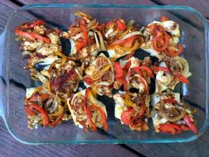 Chicken Fajita Sliders | Aunt Bee's Recpes
