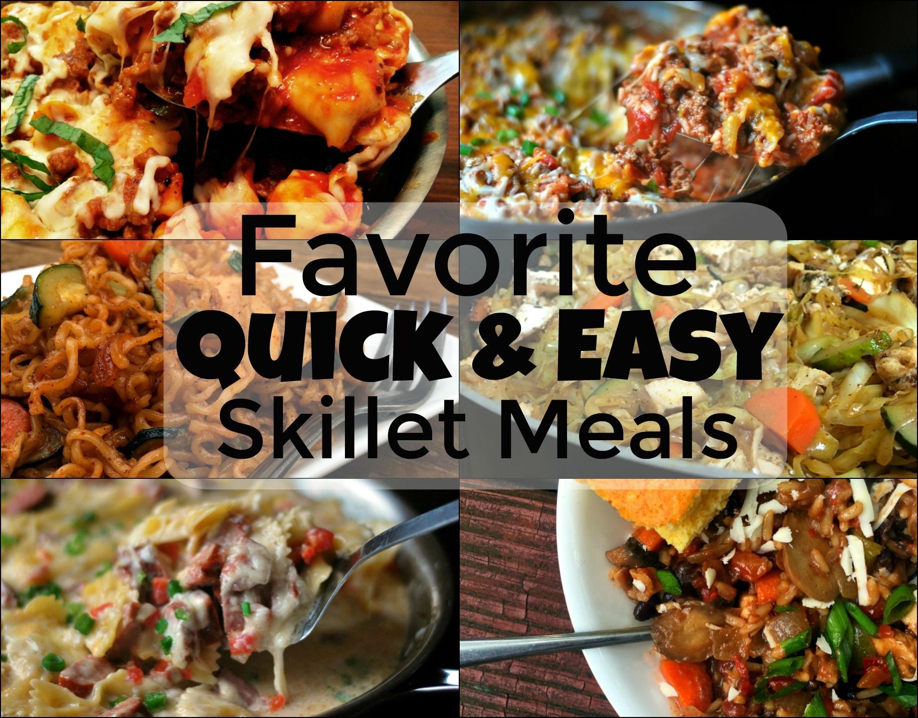 Favorite Quick & Easy Skillet Meals