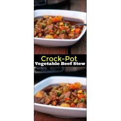 Small Crop Of Vegetable Beef Stew
