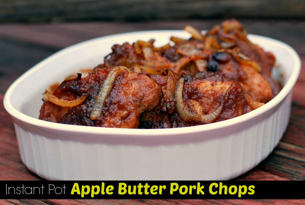 Instant Pot Apple Butter Pork Chops | Aunt Bee's Recipes