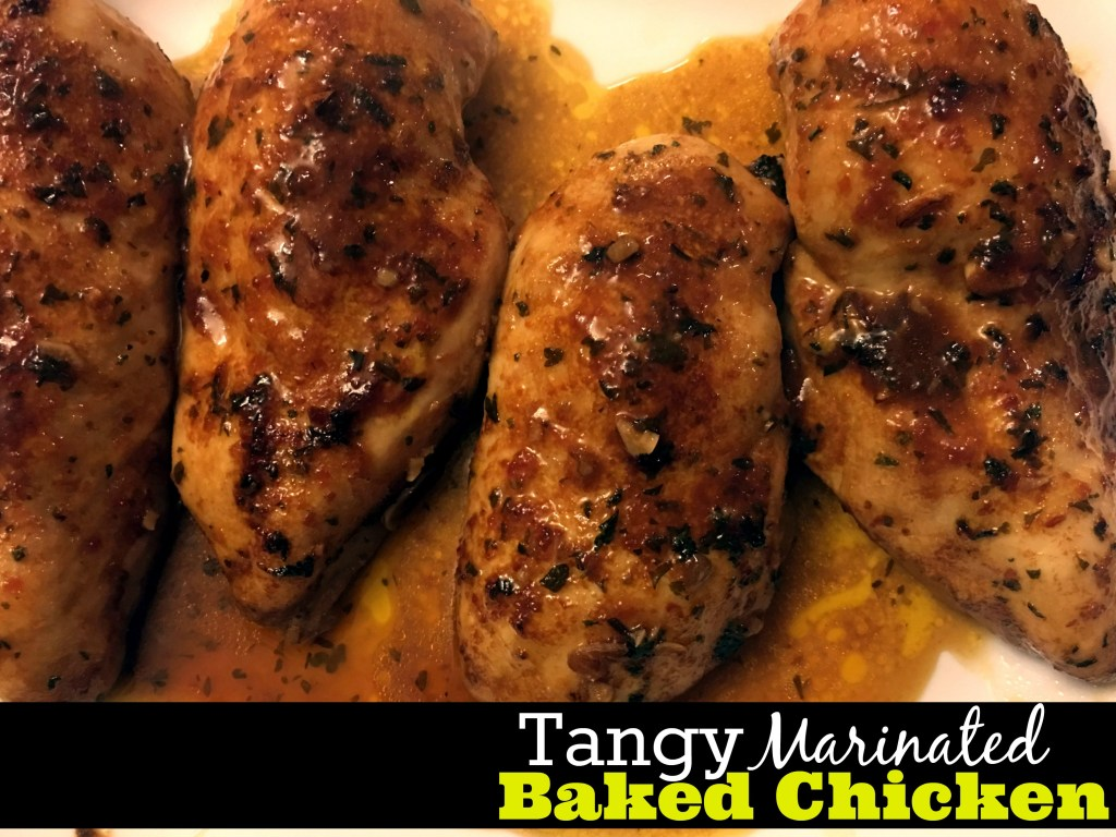 Tangy Marinated Baked Chicken   Aunt Bee's Recipes