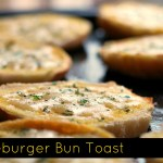 Cheeseburger Bun Toast