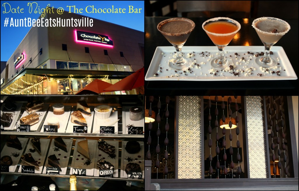 Date Night At The Chocolate Bar | Aunt Bee's Recipes #AuntBeeEatsHuntsville