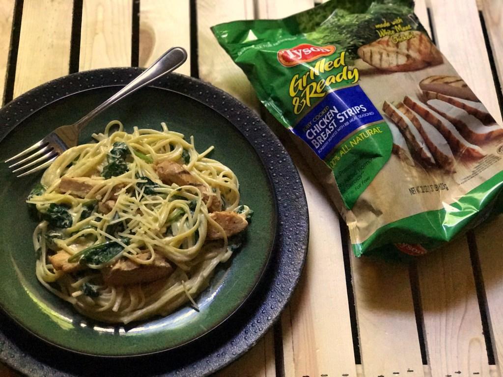 Chicken Florentine Pasta | Aunt Bee's Recipes