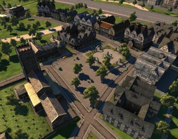 Cities XL medieval plaza