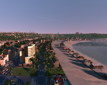 Cities XL New Coast City Bay panoramic
