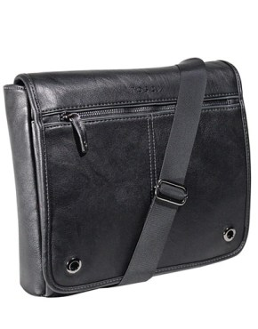TOSCA Grange Three Quarter Flap Messenger Bag