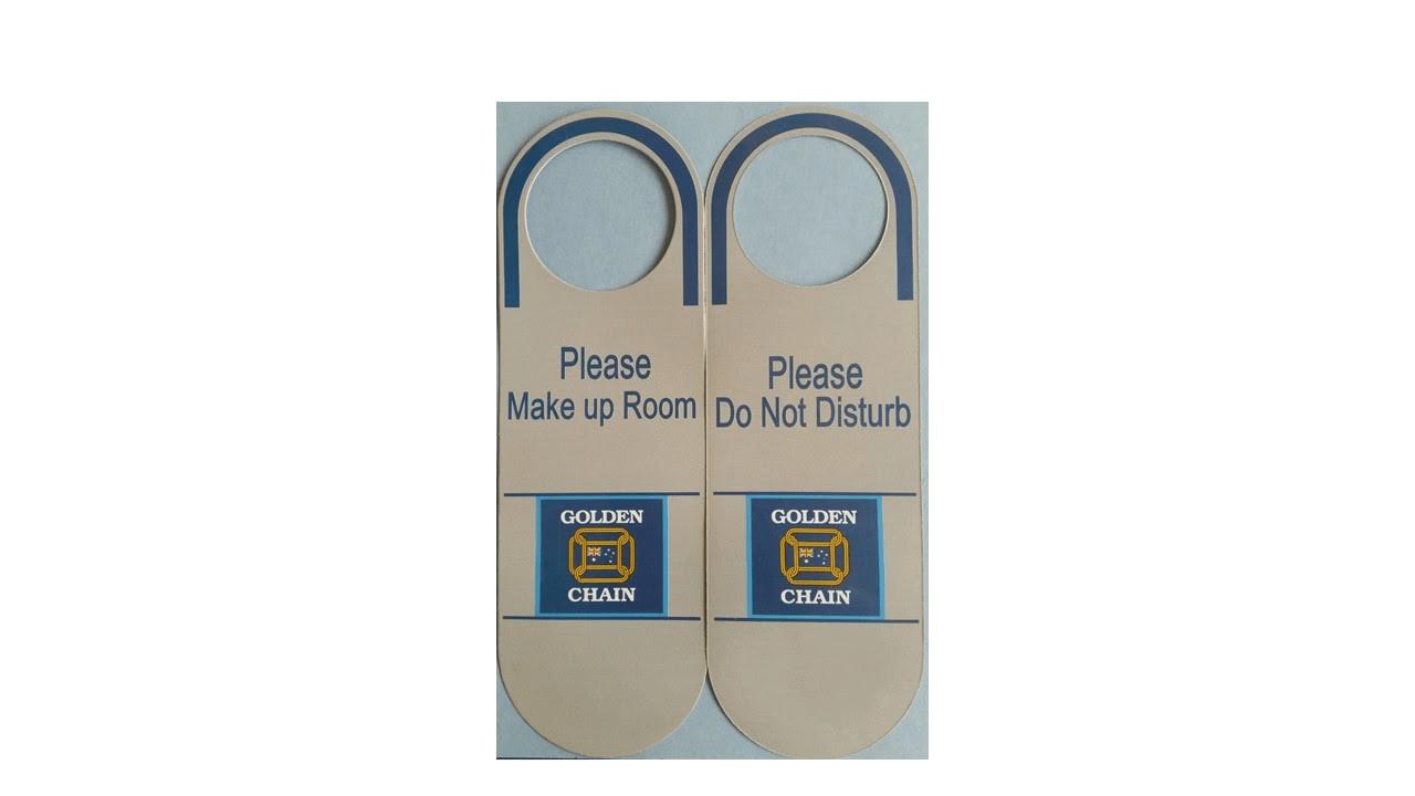 GC Door Sign