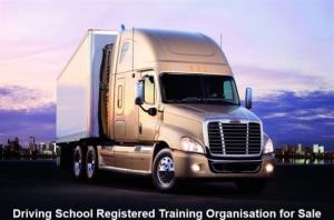 Driving School Registered Training Organisation for Sale