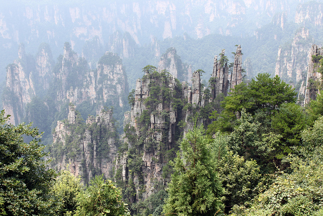 Zhangjiajie Mountains Hunan
