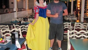 Just hanging with my girl, Snow White