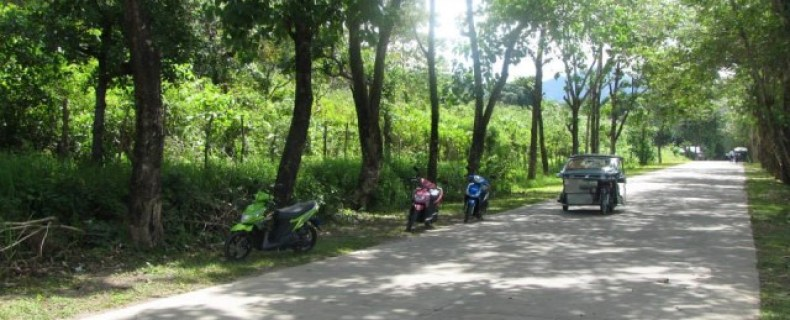 Riding Motorbikes Around El Nido