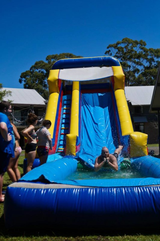 waterslide coffs harbour southern cross university carina college