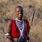 The missing tooth is a common sight among Masai men.