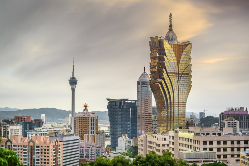 macau casinos skyline