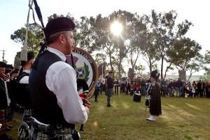 australian celtic festival pipe band