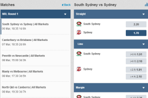 Sportingbet odds