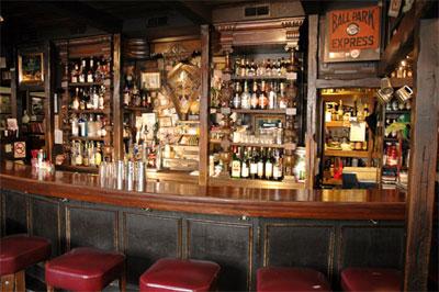 Die Bar im John Barleycorn.