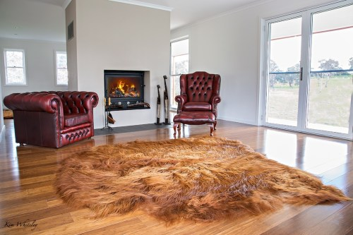 Highland Hide Floor Rugs - Traditionally Tanned