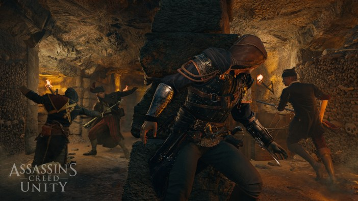 Assassin's Creed Unity ACU_screen_84_COOP_Catacombs_GC_140813_10amCET_1407889537