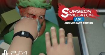Διαθέσιμο και με νέα features το Surgeon Simulator: Anniversary Edition στο PS4