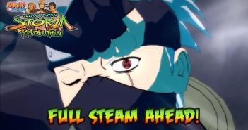 Naruto Shippuden: Ultimate Ninja Storm Revolution – PS3/X360/PC Digital – Full Steam Ahead! (Get Hype trailer)
