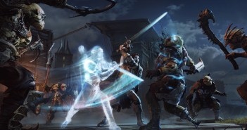 Middle-earth Shadow Of Mordor MiddleearthShadowofMordor_TalionWraithCombat_Screenshot