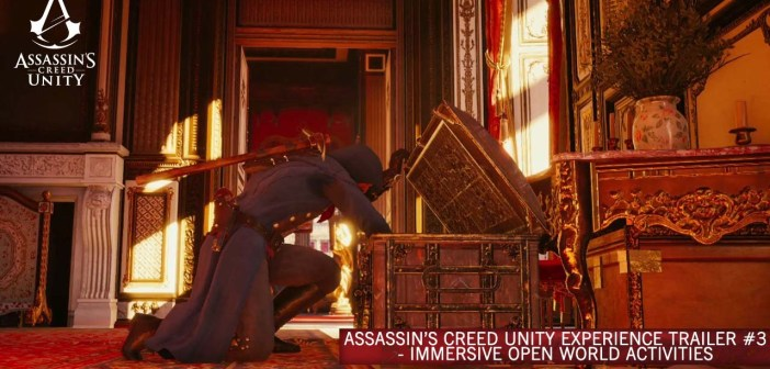 Assassin's Creed Unity Experience Trailer #3 – Immersive Open World Activities