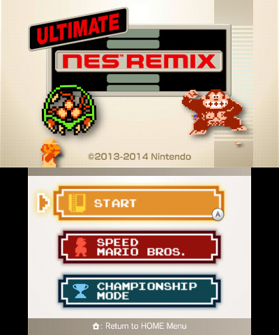 Ultimate NES Remix cqtH9B3