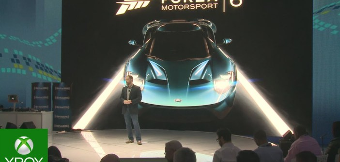 Forza Motorsport 6 Announce Event