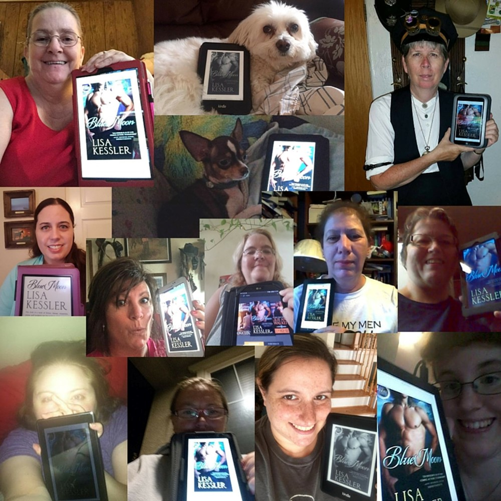 Blue Moon & Me Photo Contest WINNERS and New Reader Collage