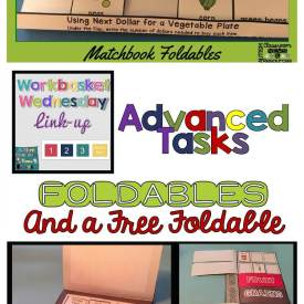 Using Foldables in Structured Work Systems: Advanced Tasks with a Seasonal Freebie