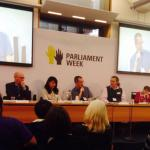 Kevin Healey talks about the Dimensions Charity Question Time Panel at Parliament