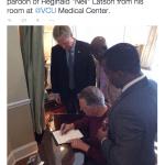 "UPDATE: Governor of Virginia, Terry McAuliffe grants Reginald ""Neli"" Latson conditional pardon"