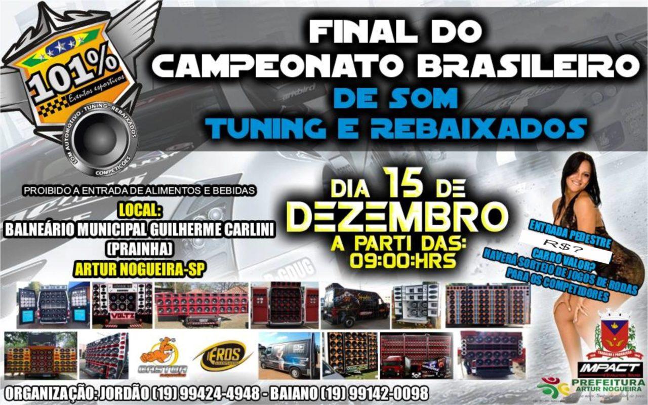 Final do Campeonato Brasileiro da 101% Eventos