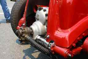 Detalhe do compressor exposto do Blower no. 1 (autor)