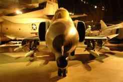Vista dianteira do F-4