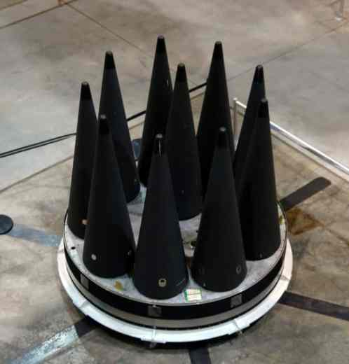 Ogivas do ICBM Peacekeeper, uma para cada alvo